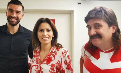 Rui Patrício cruzou-se com Joana Cruz e Eduardo Madeira num evento