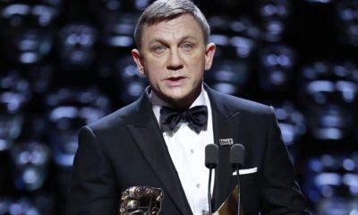 Daniel Craig apresenta Melhor Filme durante os BAFTA 2018