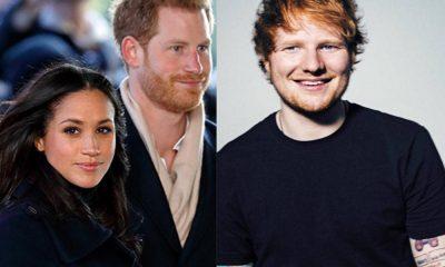 Ed Sheeran foi convidado para tocar no casamento do príncipe Harry e de Meghan Markle
