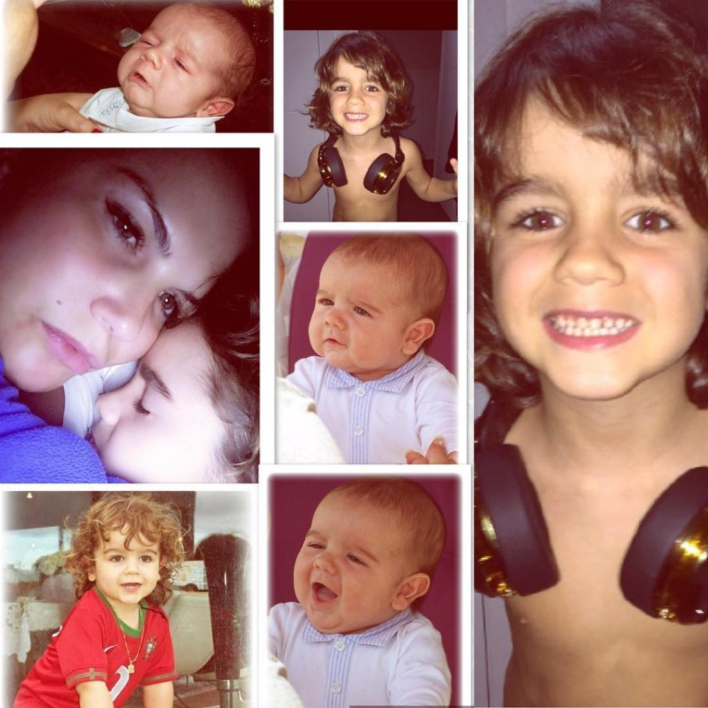 Filho de Katia Aveiro