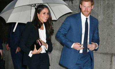 Príncipe Harry e Meghan Markle nos prémios de Endeavour Fund