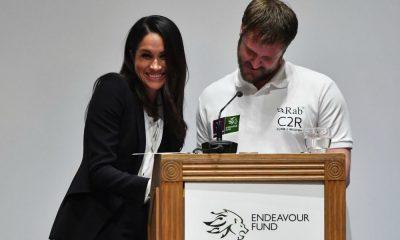 Meghan Markle apresenta os prémios do Endeavour Fund