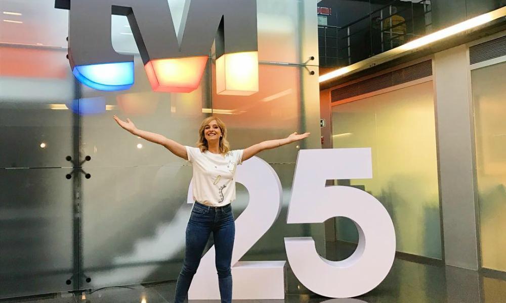 Sara Prata celebra os 25 anos da TVI