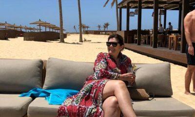 Dolores Aveiro está de férias