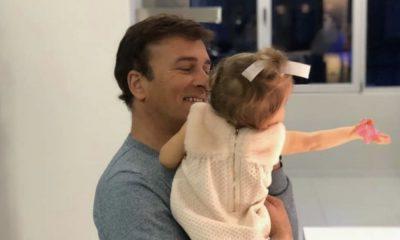 Tony Carreira com a neta Beatriz