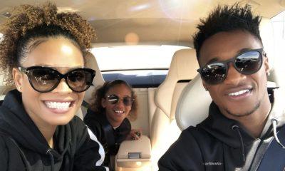 Yannick Djaló passou o Domingo com a namorada e o filho
