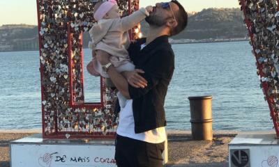 Bruno Fernandes foi pai há pouco tempo e sofre com a desarrumação da sua bebé