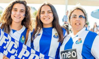 As adeptas do FC Porto puderam visitar o museu do clube a metade do preço