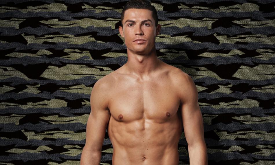 Cristiano Ronaldo lançou a linha deste ano da CR7 Underwear