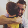 Rui Patrício com o filho de Tânia Ribas de Oliveira