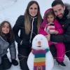 João Moutinho com a família