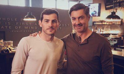 Iker Casillas encontrou Vítor Baia na Invicta