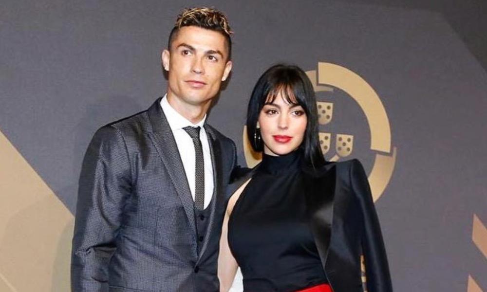 Cristiano Ronaldo com a namorada Georgina Rodríguez