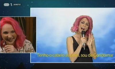 """Paródia de """"O Jardim"""" deixa Isaura e Cláudia Pascoal a rir à gargalhada"""