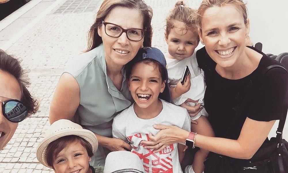Dália Madruga mostra como o seu filho mais velho cresceu