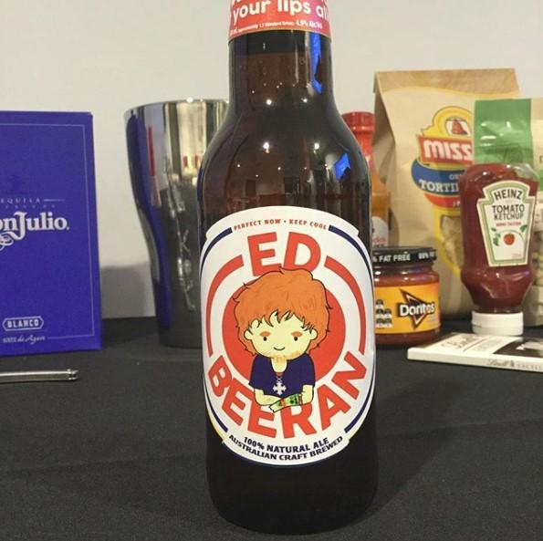 Ed Sheeran tem uma cerveja com o seu nome