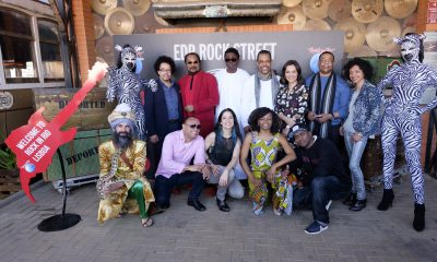 Rock in Rio - Lisboa 2018: Apresentacao da EDP Rock Street Africa na Nirvana Studios em Oeiras, Portugal a 27 de Marco de 2018.