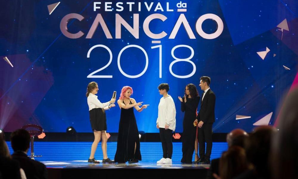 """Isaura e Cláudia Pascoal venceram o Festival da Canção 2018 com o tema """"O Jardim"""""""