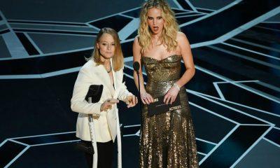 Jennifer Lawrence e Judie Foster