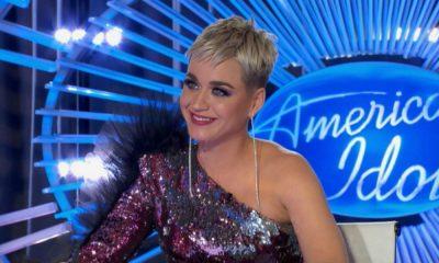Katy Perry durante a audição de Trevor Holmes
