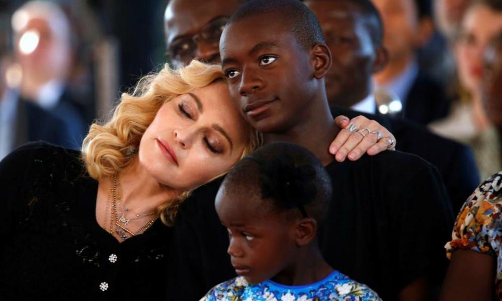 Madonna e David
