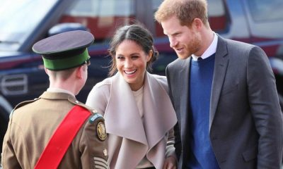 Príncipe Harry e Meghan Markle visitam a Irlanda do Norte