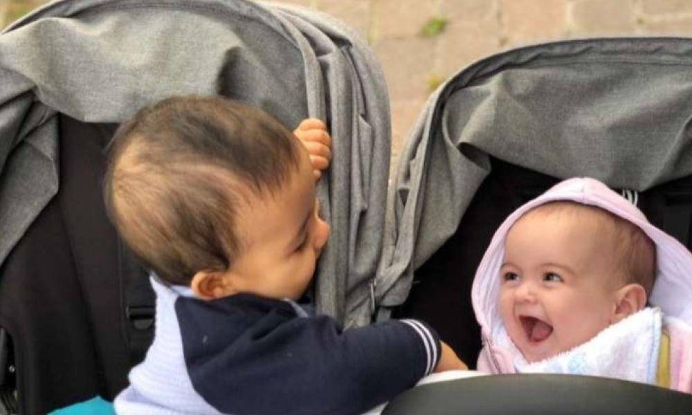 Alana Martina e Mateo, dois dos filhos de Cristiano Ronaldo