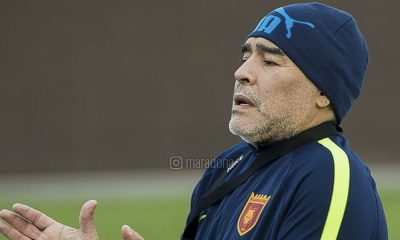 Maradona está a treinar uma equipa nos Emirados Árabes Unidos