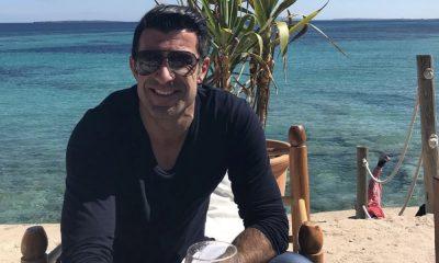 Luís Figo em Ibiza