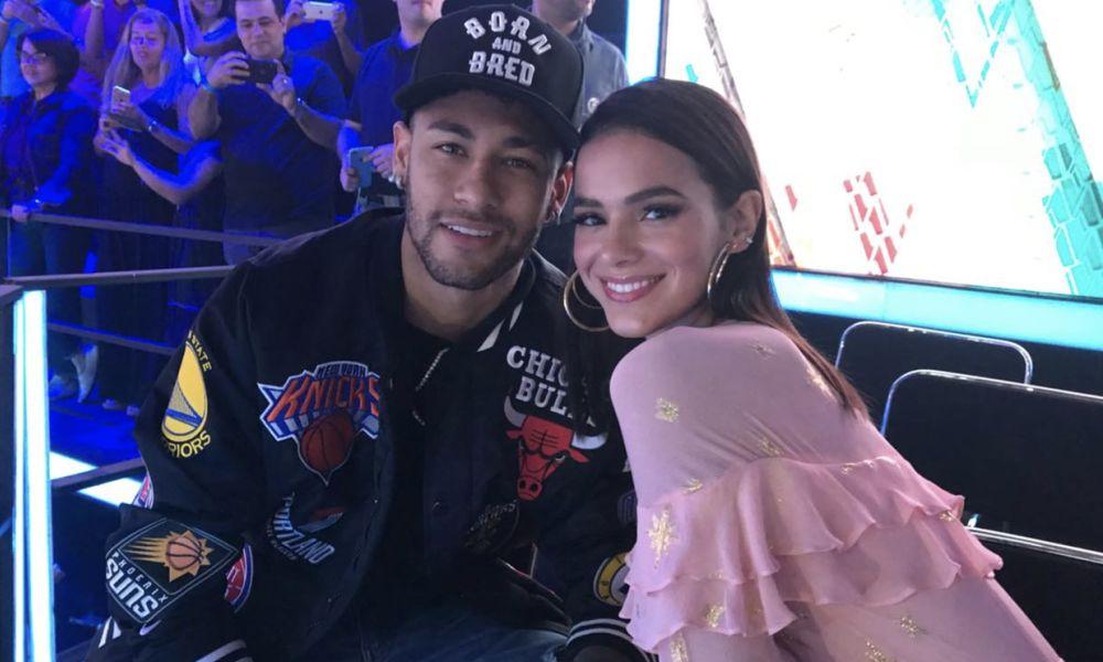 Neymar e Bruna Marquezine no The Voice Kids Brasil