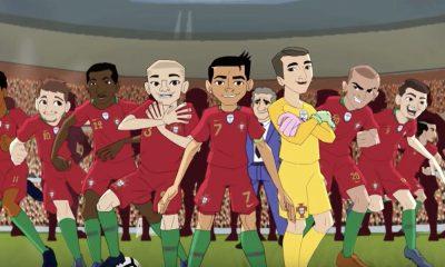 Os jogadores da Seleção Nacional foram transformados em bonecos
