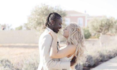 Éder casou-se recentemente com Sanna Ladera