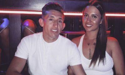 Shantal é o grande apoio do futebolista Herrera