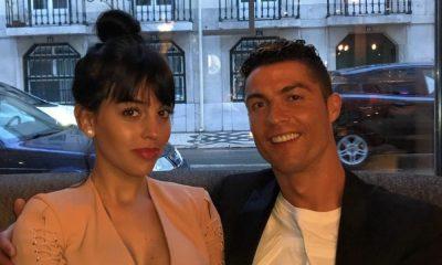 Cristiano Ronaldo está em Lisboa com a namorada