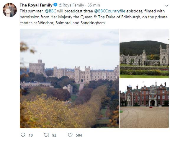 Família Real Britânica - BBC