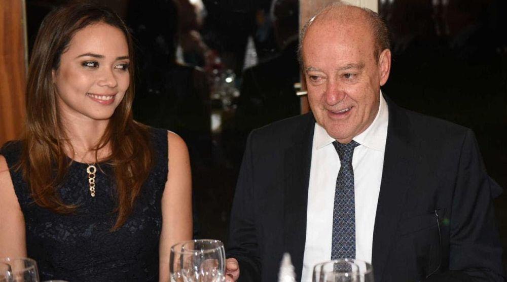 Pinto da Costa com a namorada Fernanda Miranda