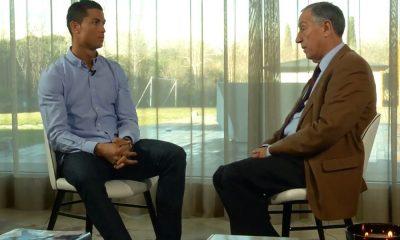 Cristiano Ronaldo e Marcelo Rebelo de Sousa