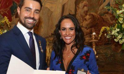 Ricardo Pereira recebeas insígnias de Ordem do Mérito