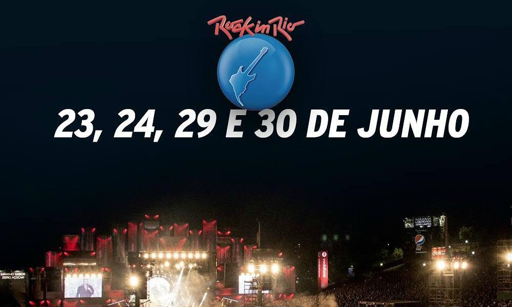 Datas do Rock in Rio 2018