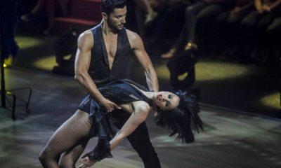 """Sara Prata durante a sua participação no """"Dança com as Estrelas"""""""