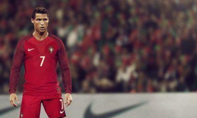 Cristiano Ronaldo em ação pela seleção portuguesa