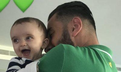Rui Patrício com a filha Eva