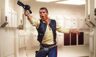 Cristiano Ronaldo fez parte de 'Star Wars' por um dia