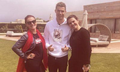 Elma e Kátia Aveiro estão em Madrid com Cristiano Ronaldo