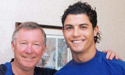 Alex Ferguson e Cristiano Ronaldo