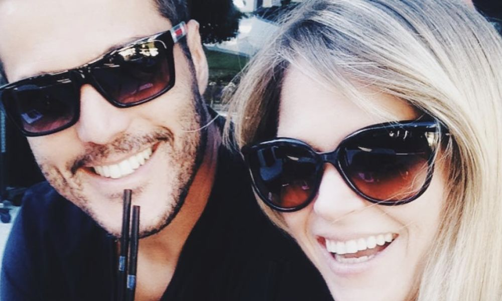 Júlio César e Susana Werner