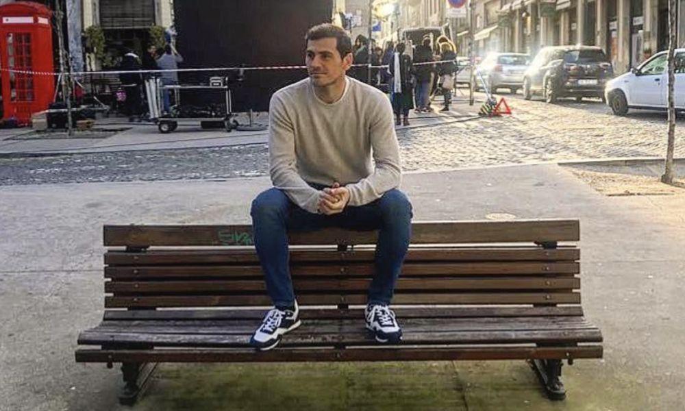 Iker Casillas foi o anfitrião dos amigos no Porto