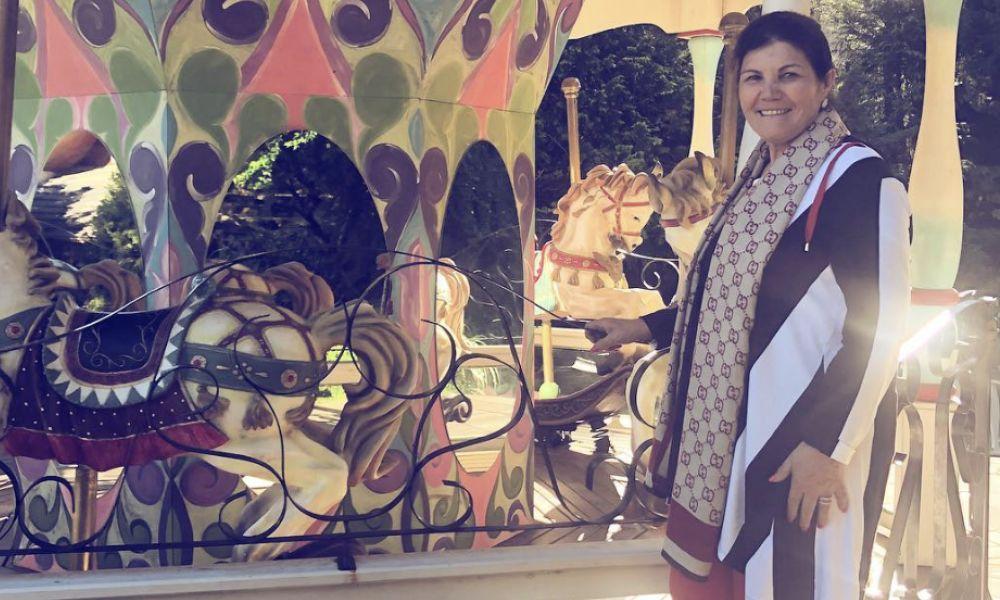 Dolores Aveiro está no Brasil