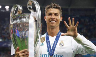 Cristiano Ronaldo ganhou a Liga dos Campeões pela quinta vez