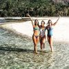 Rita Pereira, Kelly Bailey e Jéssica Athayde nas Ilhas Maurícias